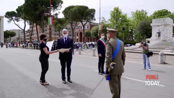 Festa della Repubblica in Piazzale della Vittoria: la consegna delle onorificenze