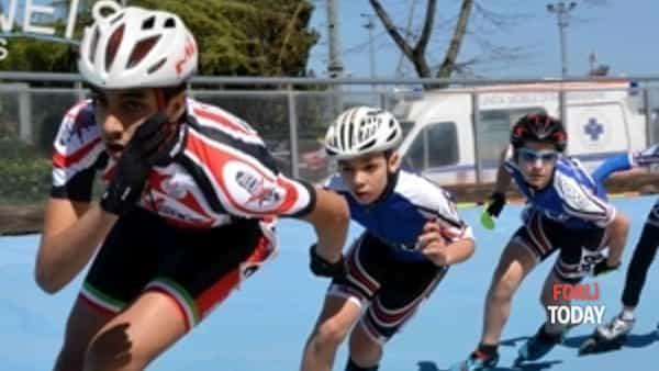 forli roller: secondo posto ai campionati regionali di pattinaggio corsa-5