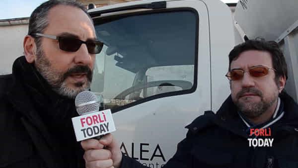 """Primo giorno per il 'porta a porta' Alea a Forlì: """"In pochi hanno tirato fuori il bidone, ma era atteso"""""""