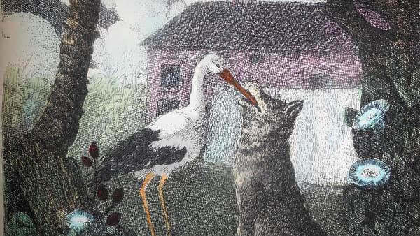 """""""Le favole di La Fontaine"""" interpretate dagli acquerelli di Enzo Bellini"""