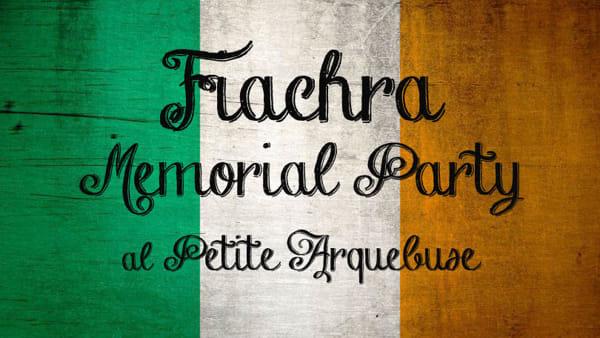 Fiachra Memorial party: gli amici omaggiano lo scomparso prof. Stockman