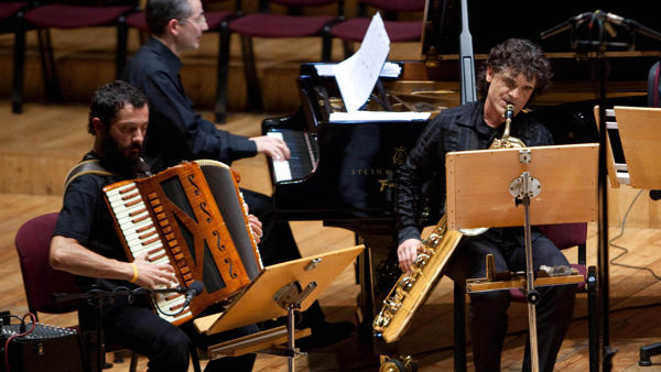 Musica al Teatro Testori con il trio Marzi, Zanchini e Zannini