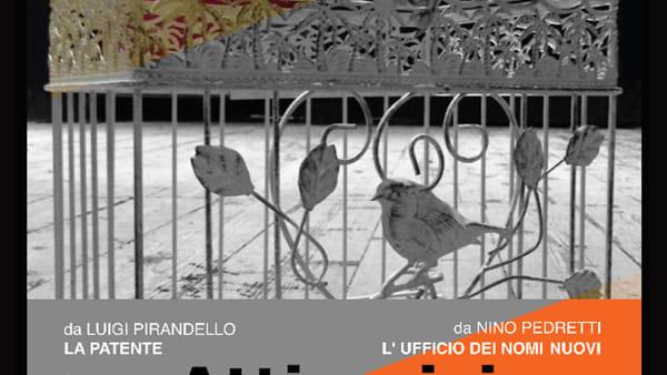 """""""Atti unici"""", Pirandello e Pedretti al Comunale di Predappio"""