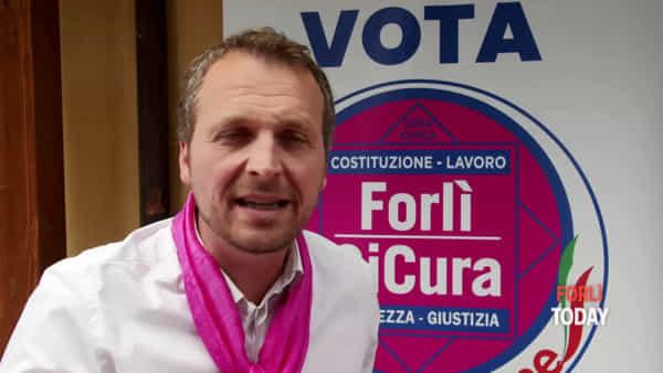 """Marco Ravaioli presenta la sua lista: """"Siamo di Forlì e viviamo a Forlì, la conosciamo"""""""