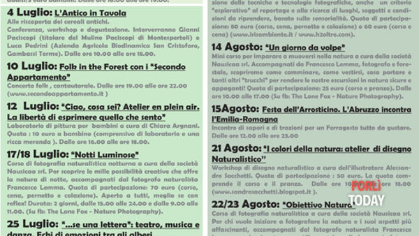 Rifugio Casa Ponte, il calendario degli eventi 2015