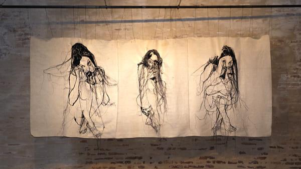 """Arte e tessuti: i """"Profili cuciti di santità"""" di Lucia Bubilda Nanni"""
