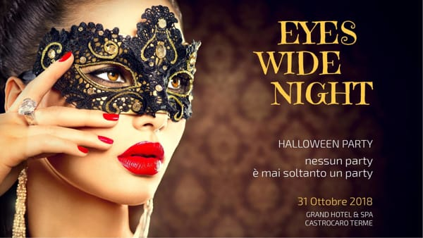 Mistero e fascino al Grand Hotel delle Terme di Castrocaro: ad Halloween l'Eyes Wide Party