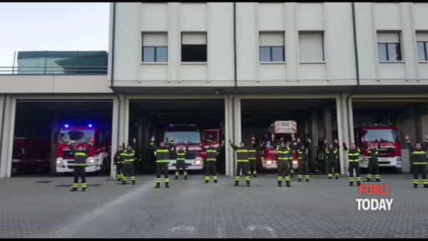"""""""Forza Lorenzo!"""": i Vigili del Fuoco al fianco del collega malato"""