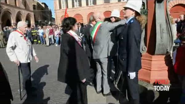 Il 25 aprile a Forlì, il video delle celebrazioni in Piazza Saffi