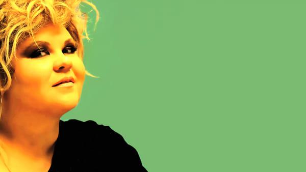 "Linda Valori sul palco di ""Donne Jazz in Blues"""