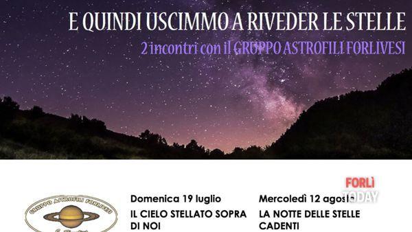 Il cielo stellato sopra di noi al centro visita di San Benedetto in Alpe