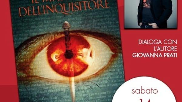 """Marcello Simoni presenta il libro """"Il marchio dell'inquisitore"""""""