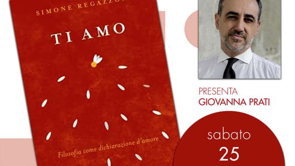 """""""Ti amo"""", si presenta il libro di Simone Regazzoni"""