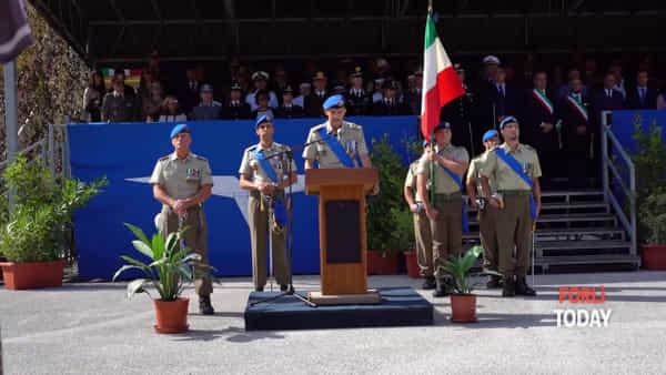 Cambio alla guida del 66°: il passaggio della bandiera di guerra nelle mani del nuovo comandante