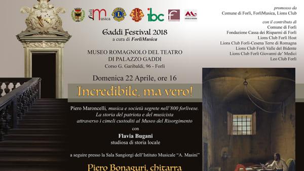 Pietro Maroncelli, musica e società segrete nell'800 forlivese