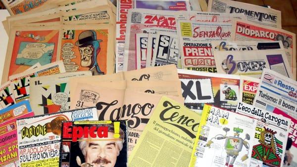 Politic Comics: in mostra quarant'anni di politica italiana a fumetti
