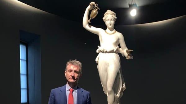 """Inaugura """"Un'Opera al mese"""": la prima protagonista è l'Ebe di Canova"""