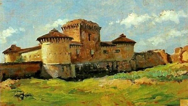 Pittoriche Esplorazioni: in mostra le Rocche e i Castelli di Giordano Severi