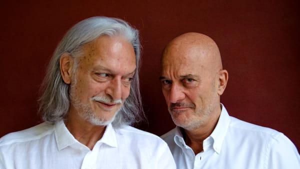 """Claudio Bisio e Gigio Alberti in scena con la commedia """"Ma tu sei felice?"""""""