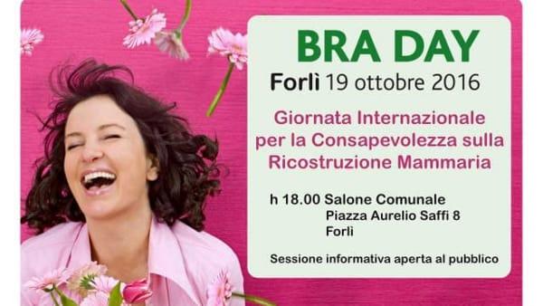 A Forlì arriva il Bra day, una giornata dedicata alla lotta al tumore del seno