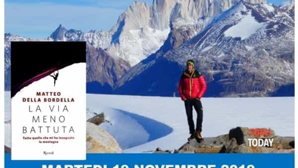 Serata con l'alpinista Matteo Della Bordella