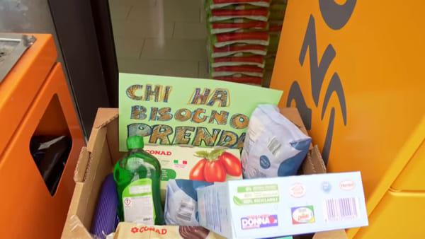 """""""Spesa sospesa"""", l'iniziativa solidale al supermercato della Cava per chi è in difficoltà"""