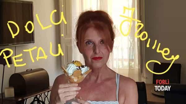 """Ecco come fare colpo sugli invitati a cena: il gelato """"dolci petali"""" di Francy è servito"""
