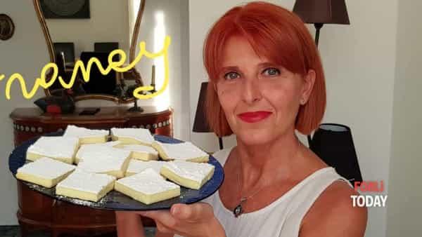 Ottimi da gustare in qualsiasi momento: i quadrotti ricotta e limone alla Francy