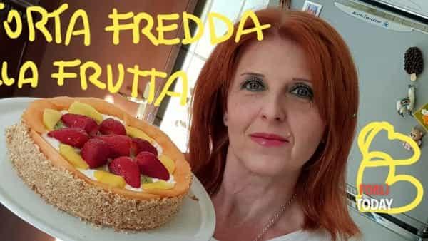 L'antidoto dolce al caldo: la torta fredda alla frutta di Francy