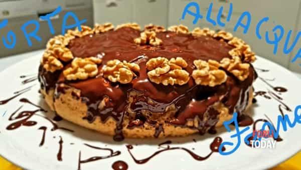 Gusto delicato, ricco di sapori e senza colesterolo cattivo: ecco la cioccolatosa torta all'acqua