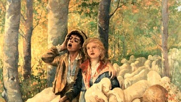 """""""Stornellando"""", un dipinto che torna in Romagna alla Galleria Farneti"""
