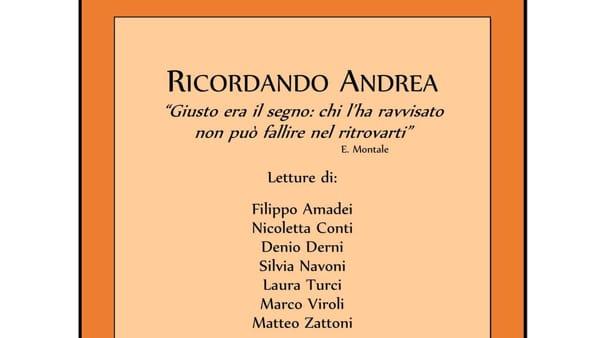 Serata di letture in ricordo del professor Andrea Brigliadori a Meldola