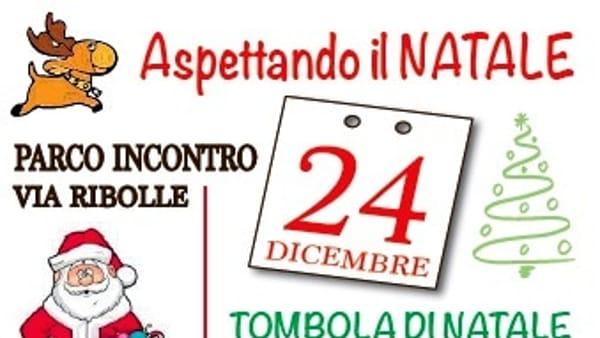"""""""Aspettando il Natale"""": tombola e inaugurazione del presepe di via Ribolle"""