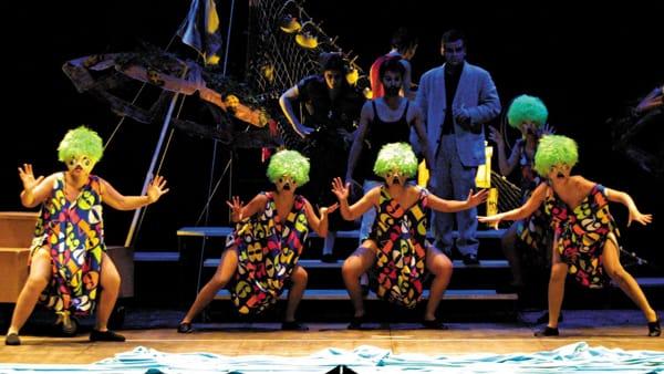 Al teatro di Dovadola gli attori di The Theatre mettono in scena l'Odissea