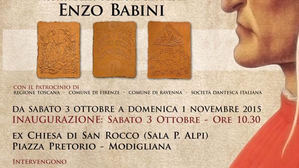 100 formelle in terracotta dedicate alla Divina Commedia in mostra
