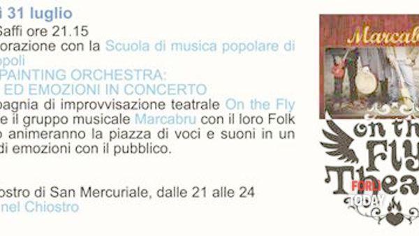 Soundpainting orchestra & theatre: storie ed emozioni in concerto