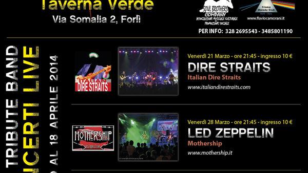 Rock 'n Time: alla Taverna Verde tributo ai Led Zeppelin