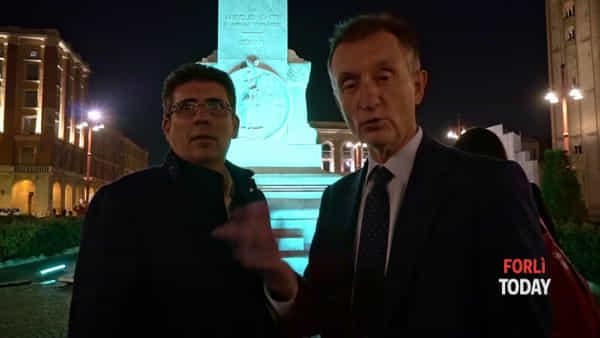 Forlì rende omaggio ad uno dei suoi figli più illustri: Aurelio Saffi veste il tricolore