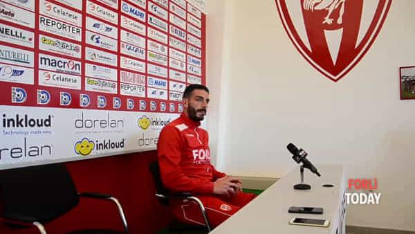 Veste la maglia del Forlì e va subito in gol: si presenta il bomber Stefano Del Sante