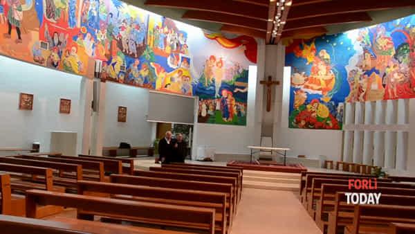 San Giuseppe Artigiano ha i suoi nuovi dipinti, li illustra l'autore Franco Vignazia