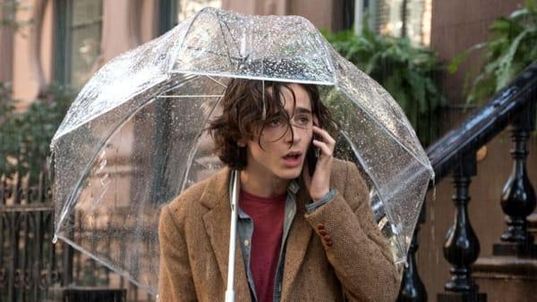 """""""Un giorno di pioggia a New York"""" in lingua originale"""