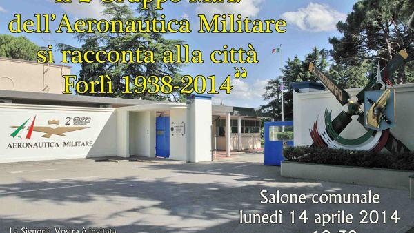 L'Aeronautica Militare di Forlì si racconta alla città: appuntamento in Comune