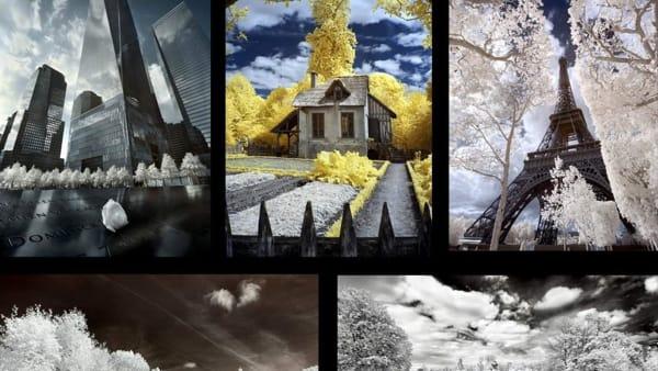 """La fotografia di Ludovico Andretta nella mostra """"I miei viaggi in infrarosso"""""""