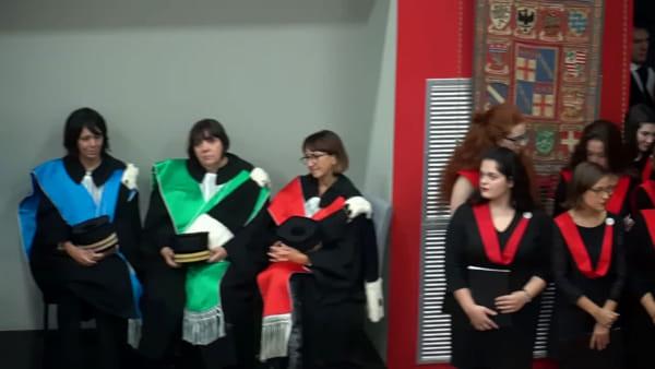 Inaugura il 932esimo anno accademico, la storica prima volta in Romagna