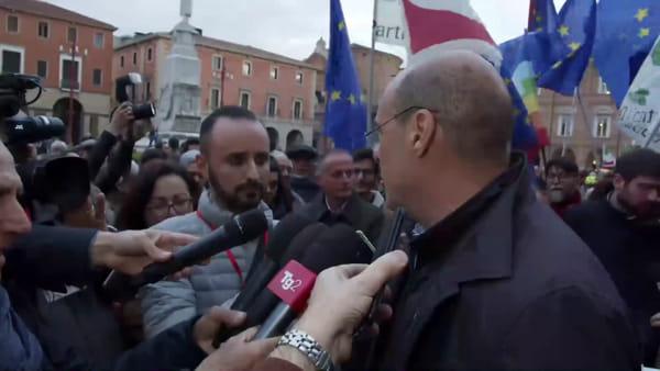 """Il segretario del Pd Zingaretti a Forlì: """"Dobbiamo guardare negli occhi le paure"""""""