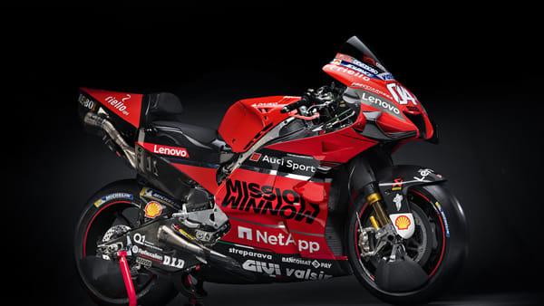 MotoGp, vista da vicino: la video presentazione della nuova Ducati GP20