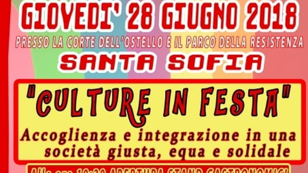 """""""Coloriamo il mondo"""": a Santa Sofia torna la festa delle culture differenti"""