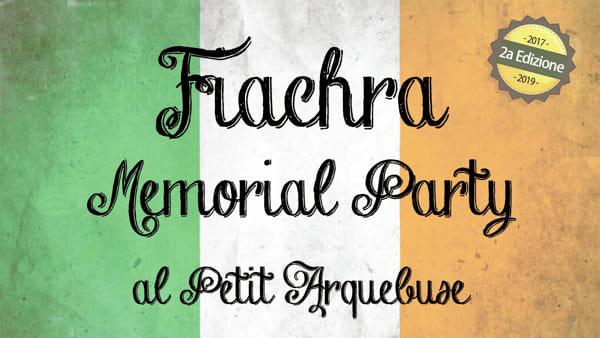 """Musica tradizionale e buon cibo per il secondo """"Flachra Memorial party"""""""