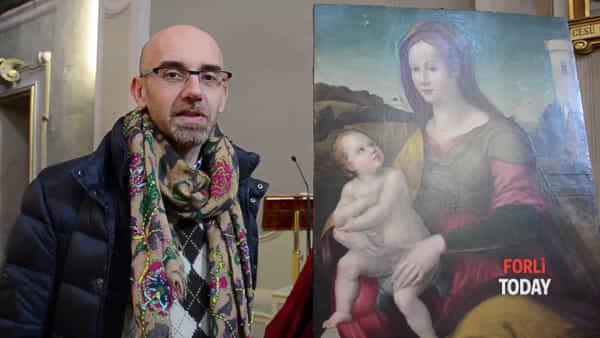 Restaurato un dipinto del Cinquecento nella chiesa di Santa Lucia
