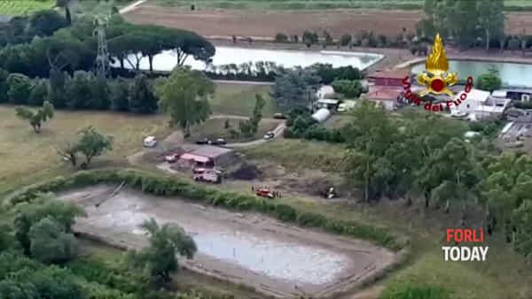 La tragedia di Fabio Lombini e Gioele Rossetti: il video dei soccorsi dei Vigili del Fuoco